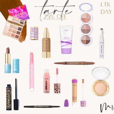 http://liketk.it/3hkvs #liketkit @liketoknow.it #LTKDay #LTKsalealert #LTKbeauty LTK Day is on! Tarte 25% off #ltkday #tarte #beautydeals #tartesale