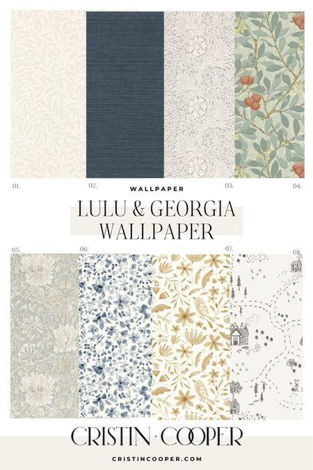 Lulu & Georgia Wallpaper http://liketk.it/3gkwo #liketkit @liketoknow.it