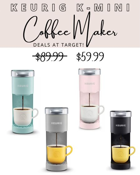 My favorite Keurig K-Mini coffee maker is on sale at Target! Normally $89.99 but now only $59.99. http://liketk.it/341DL http://liketk.it/341F4 #liketkit @liketoknow.it