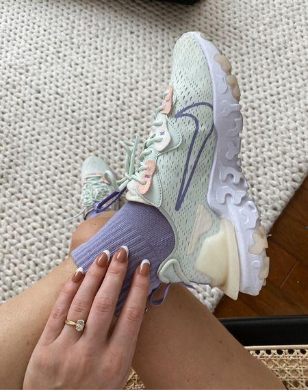 Nike react vision sneakers are on sale! These fit TTS   #LTKfit #LTKsalealert #LTKshoecrush