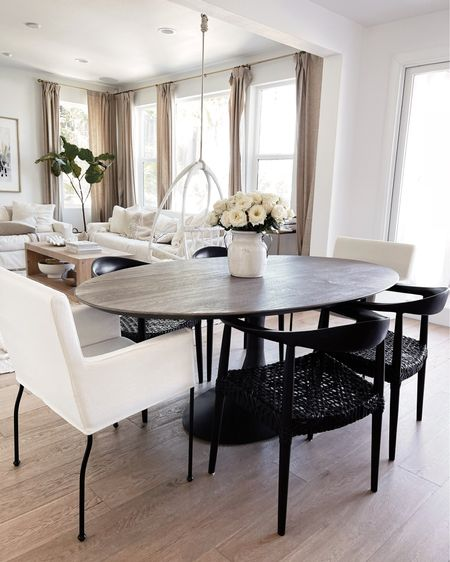 Dining room, dining chairs, home decor finds, Stylinaylinhome @liketoknow.it #liketkit http://liketk.it/3hUIC       #LTKhome #LTKstyletip #LTKunder100