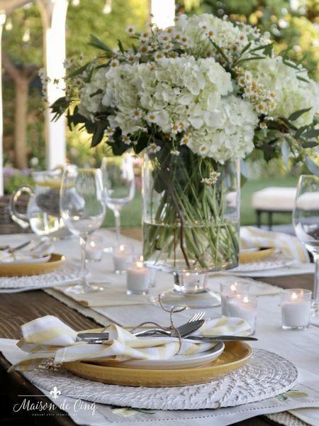 Perfect summer table setting! @liketoknow.it #liketkit http://liketk.it/3jFnr @liketoknow.it.home #LTKhome #LTKunder50 #LTKstyletip summerdecor summerdecorating summertable tablesetting tablescape tabledecor walmarthome