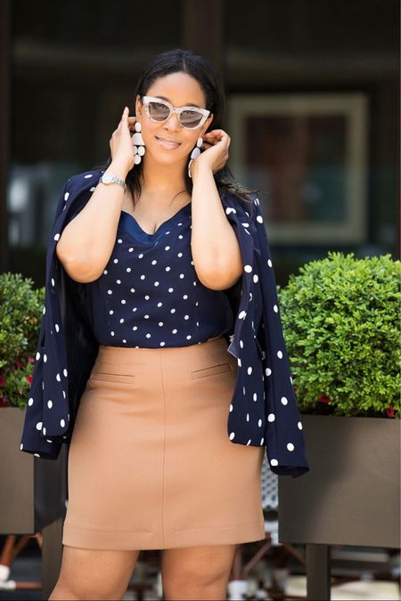 Morning! Hope your Monday - and your week - are off to a great start! # whatshaute #mondaymotivation #motivationmonday #polkadots  Shop your screenshot of this pic with the LIKEtoKNOW.it shopping app or via http://liketk.it/2ZE7D #liketkit @liketoknow.it
