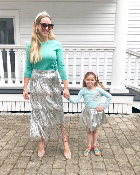 Taking our holiday skirts into spring by pairing them with pretty pastels! Happy #matchingmonday, friends! http://liketk.it/3ay0R @liketoknow.it @liketoknow.it.family #liketkit #LTKfamily #LTKstyletip #LTKunder100