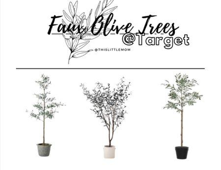 Top 3 Faux Olive Trees @Target! #target #homedecor   #LTKstyletip #LTKhome