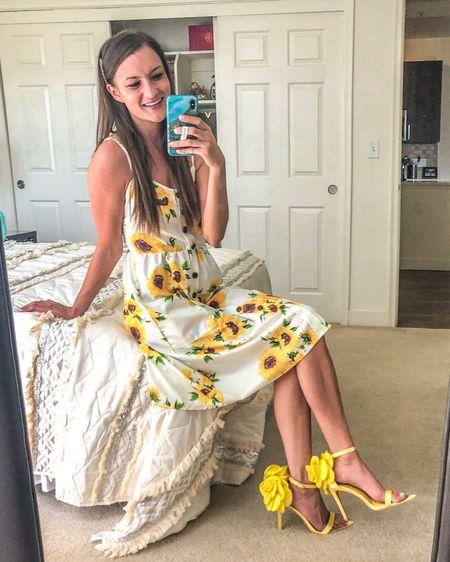 The cutest summer dress 😍👗 http://liketk.it/2Ol92 #liketkit @liketoknow.it #LTKunder50 #LTKspring