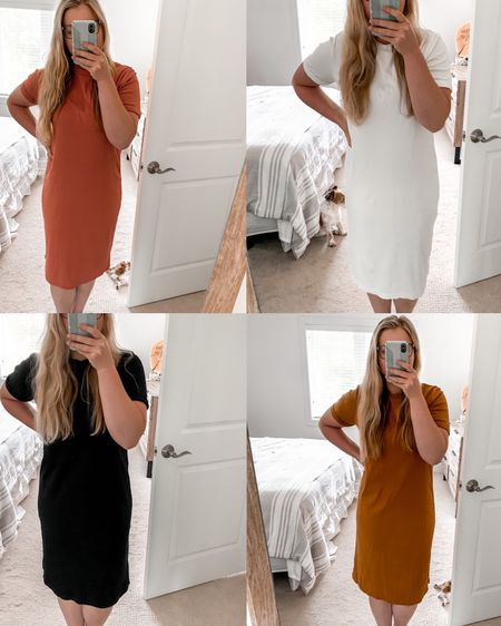 The most perfect t-shirt dress!😍 For only $20, you can't go wrong with this midi t-shirt dress that comes in so many fun colors! http://liketk.it/2SjP2 #liketkit @liketoknow.it #LTKsalealert #LTKunder50