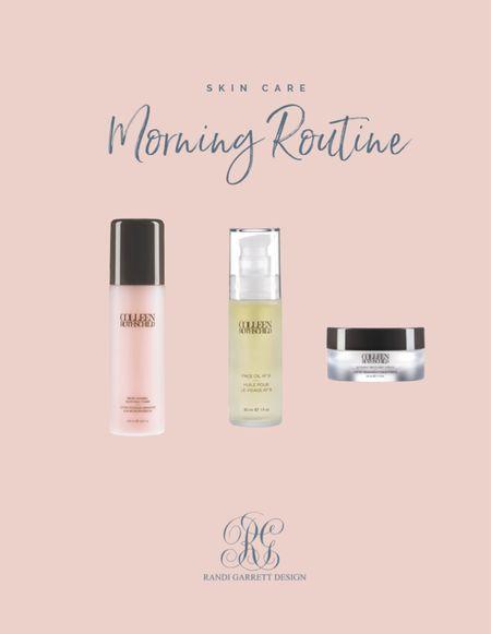 My morning skin care routine with @colleenrothschild  #LTKGiftGuide #LTKbeauty #LTKsalealert