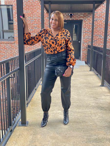 Faux Leather Look  #LTKitbag #LTKSeasonal #LTKstyletip