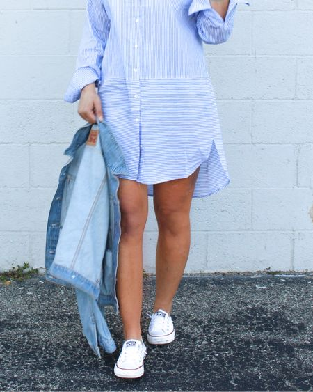 'Three Pair of Shoes to Wear W/ a Shirt Dress' is up now on the blog (link in bio)   Download the LIKEtoKNOW.it app to shop this pic via screenshot    http://liketk.it/2ATra #liketkit @liketoknow.it #LTKsalealert #LTKshoecrush #LTKstyletip #LTKunder100 #themomedit #themomeditstyle