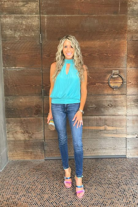 Obsessed with everything about this Ramy Brook high neck top! Wearing size S   #LTKSeasonal #LTKstyletip #LTKtravel