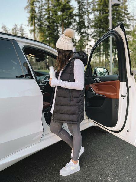 Size down in vest - small  Moto leggings - medium    #LTKstyletip #LTKfit #LTKGiftGuide