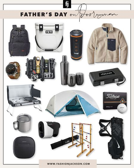 Father's Day gifts for the outdoorsy Dad #giftguide #giftsforhim #golf #camping #hiking #fashionjackson http://liketk.it/3gPiF #liketkit @liketoknow.it #LTKmens #LTKunder50 #LTKunder100