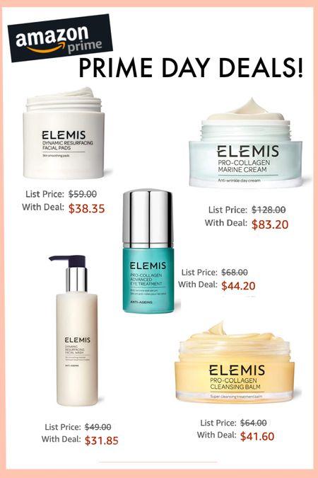 Elemis skincare deals for Amazon Prime Day! http://liketk.it/3i3Yo #liketkit @liketoknow.it #LTKbeauty #LTKunder50 #LTKsalealert