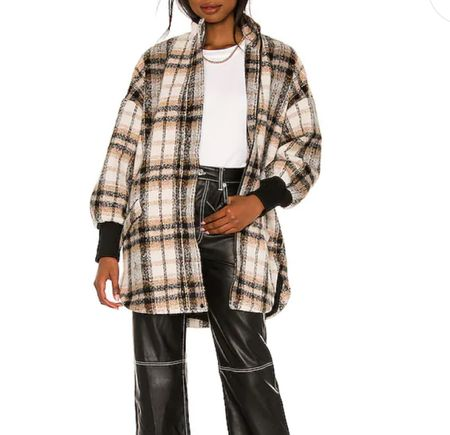 I love this! I've seen it styled with shorts, leggings and jeans. Super cute!! Flannel jacket   #LTKunder100 #LTKSeasonal #LTKstyletip