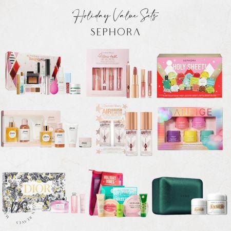 Holiday Value Kits from Sephora holiday gift guide for her holiday gift guide for beauty lover http://liketk.it/3q70I @liketoknow.it #liketkit   #LTKunder100 #LTKunder50 #LTKGiftGuide