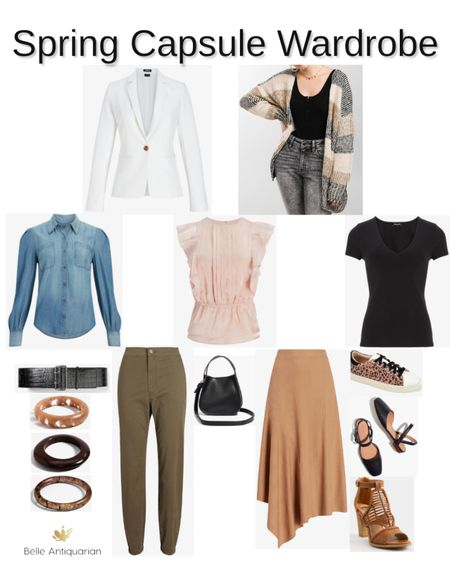 Spring capsule wardrobe, and it's ALL ON SALE!  Follow me on LIKEtoKNOW.it for more deals and dupes! @BelleAntiquarian 🥰   #LTKworkwear #LTKstyletip #LTKSpringSale