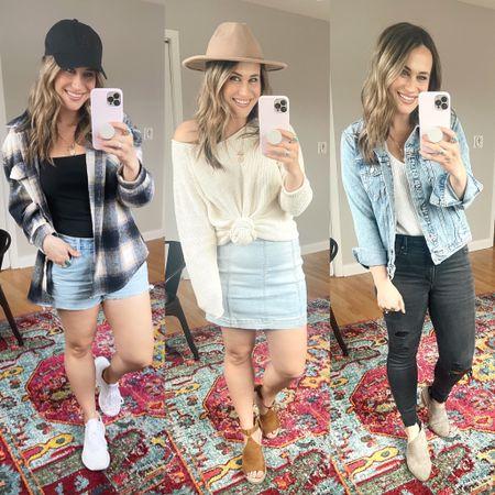 Spring outfit ideas.   #LTKunder50 #LTKstyletip #LTKshoecrush