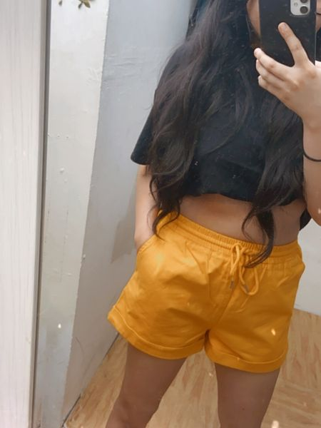 Super comfy twill shorts for loungewear.   http://liketk.it/2PdzW #liketkit @liketoknow.it  #StayHomeWithLTK #LTKspring #LTKsalealert