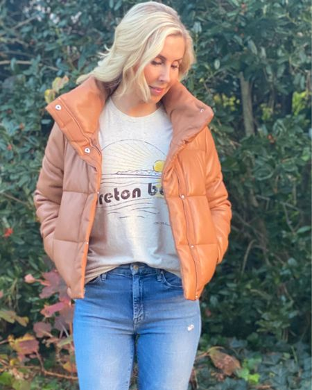 ❄️❄️ Baby, it's cold outside ❄️❄️ but nice and cozy inside!!  Wear your Breton Bay t-shirts now and later 🌞🌞  I'm wearing a Small. Link for Breton Bay shirts, hats and stickers are in bio #LTKunder50 #LTKgiftspo  • • • Shop my daily looks by following me on the LIKEtoKNOW.it shopping app http://liketk.it/33Fgl #liketkit @liketoknow.it