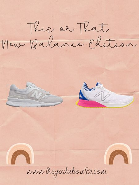 This or That: New Balance Edition http://liketk.it/2MBvN #liketkit @liketoknow.it 💕 You can instantly shop my looks by following me on the LIKEtoKNOW.it shopping app 💕