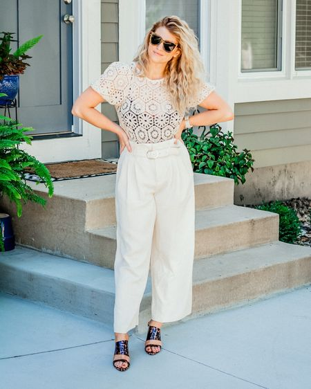 This outfit is 50% grandma-dressing-up-for-bingo and 50% St-Tropez-vacay and I'm 100% here for it. 🙌 Lots of #ltkunder50 and #ltkunder100 items linked! @liketoknow.it #liketkit http://liketk.it/2TluC #monochrome #neutrals #summertime #80s