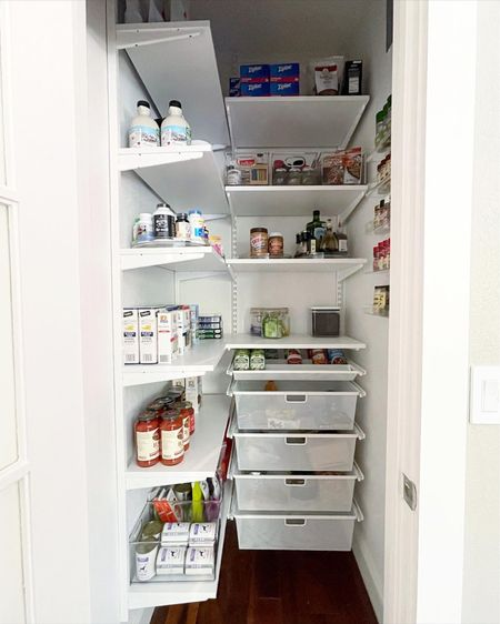 Simply installed and organized pantry!   #LTKfamily #LTKkids #LTKhome