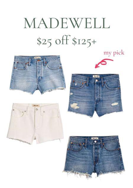 My favorite shorts from Madewell!   #LTKsalealert #LTKDay