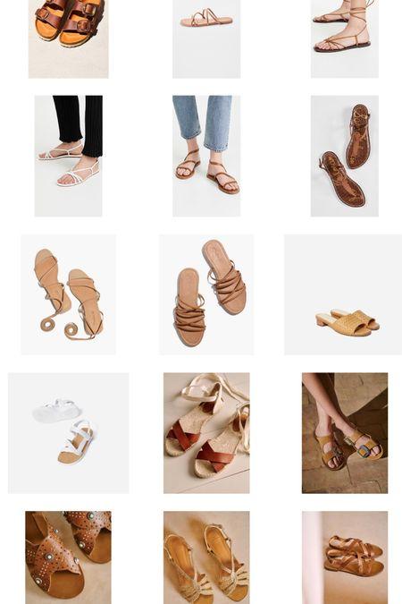 Flat neutral sandals I'm loving ☀️ http://liketk.it/3euqR #liketkit @liketoknow.it #LTKshoecrush #ltksummer
