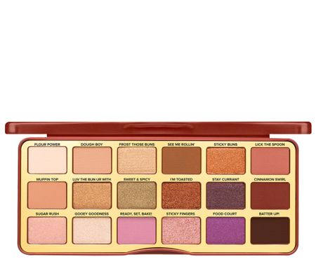 I have been on the hunt for a new eyeshadow palette for fall! This one by too faced  looks perfect!