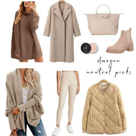 Amazon Fall Neutrals, Amazon Fashion Finds,   #LTKstyletip #LTKunder50 #LTKSeasonal