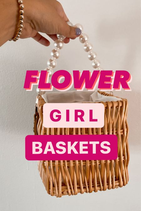 Flower girl baskets! http://liketk.it/3jmYN #liketkit @liketoknow.it Shop your screenshot of this pic with the LIKEtoKNOW.it shopping app