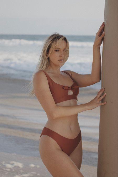 SoCal beach day in my Aerie Swim 💙   #LTKunder50 #LTKswim
