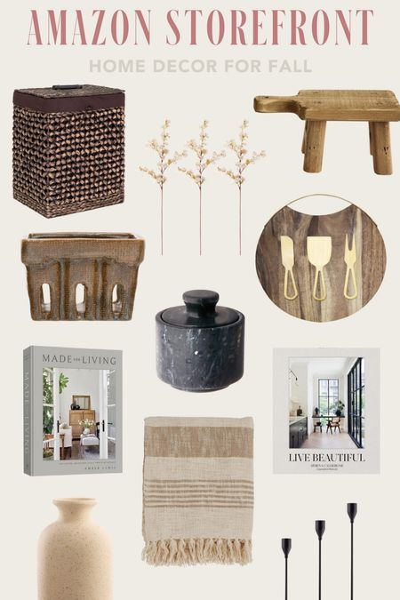 New to My Amazon Storefront - Home Decor, Fall Home Finds   #LTKhome #LTKSeasonal