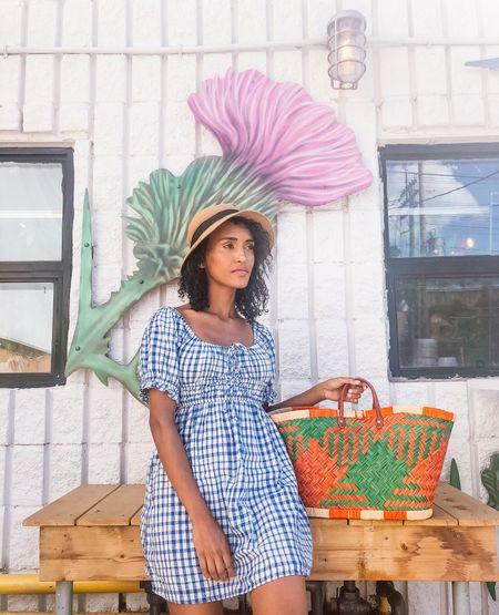 Fave summer gingham dress!   #LTKbump #LTKstyletip #LTKfit
