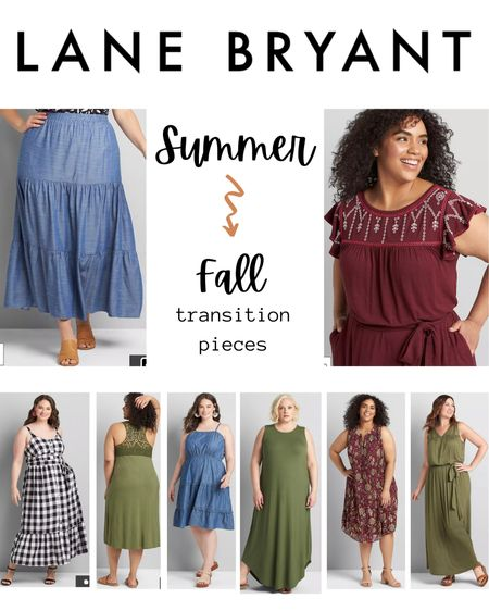 I'm so ready to start transitioning into fall content… but I know we still have a couple months of heat left! To get ready for fall vibes while staying cool, i'm shopping for fall tones and patterns in summer styles!  Here are mu favorites from Lane Bryant. What do you think?  #LTKstyletip #LTKSeasonal #LTKcurves