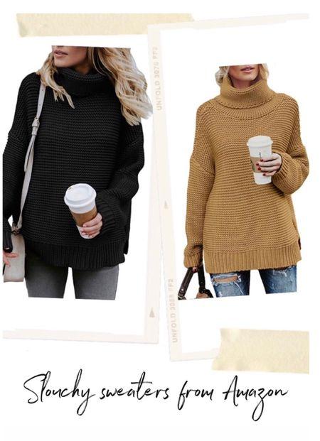Amazon Fall Sweater, Amazon Sweater, Amazon Outfit Idea  #LTKstyletip #LTKSeasonal #LTKunder50