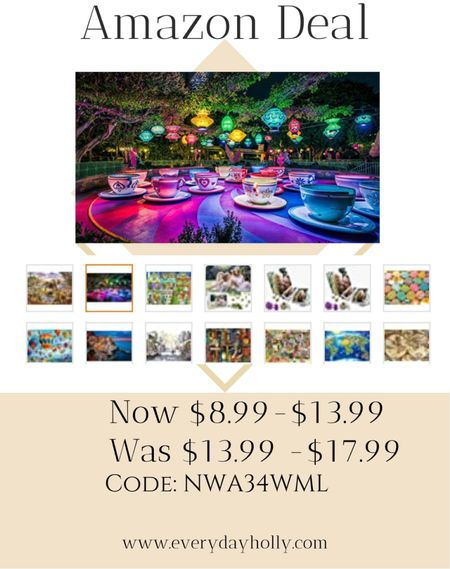 Puzzle time! Summer fun! Amazon deal on several 1000 piece puzzles Amazing reviews  CODE : NWA34WML   #LTKsalealert #LTKunder50 #LTKfamily