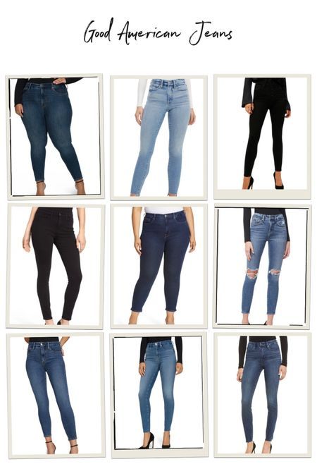 Stretchy jeans for all sizes!   #LTKcurves #LTKstyletip