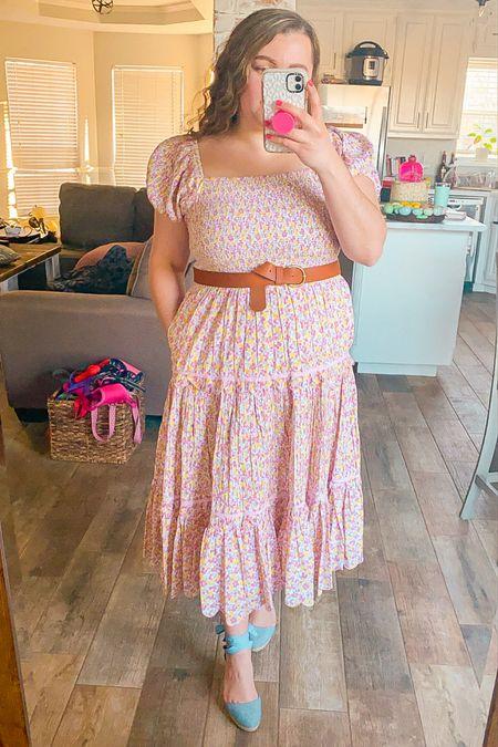 Bridgerton dress peasant dress loveshackfancy floral dress spring outfit Easter dress  #LTKSeasonal #LTKwedding #LTKtravel