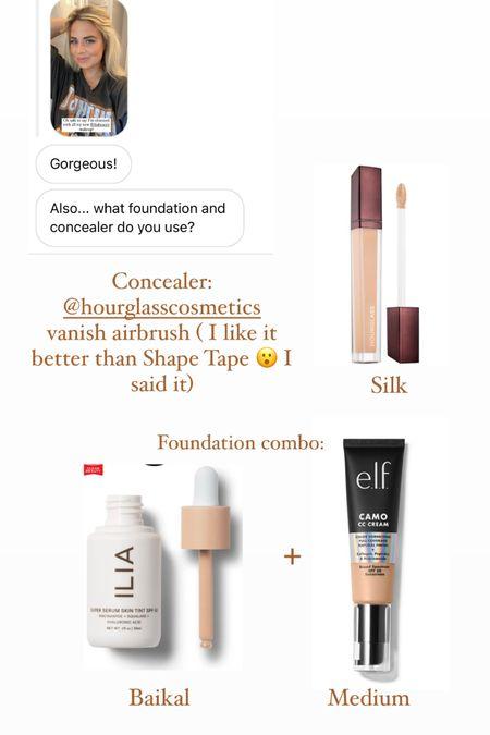 Foundation duo + favorite concealer @liketoknow.it #liketkit http://liketk.it/3hrQN #LTKbeauty