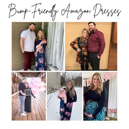 These bump-friendly dresses are all available on Amazon prime! Amazon prime maternity options!  #LTKbaby #StayHomeWithLTK #LTKbump @liketoknow.it.family @liketoknow.it.home Shop your screenshot of this pic with the LIKEtoKNOW.it shopping app http://liketk.it/38jIv #liketkit @liketoknow.it