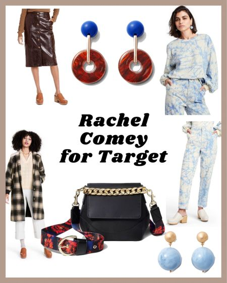Rachel Comey Fall Designer Collection with Target! Lots have sold out but these items are gorgeous and in full stock! Hurry though! That purse and those earrings and hat faux leather skirt, oh my!  #LTKitbag #LTKSeasonal #LTKunder50