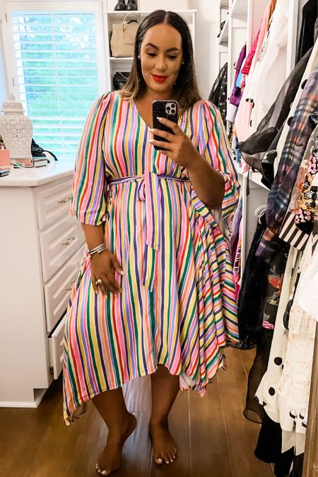 #AD @walmart has some cute finds for summer! One of my favorite lines for curvy girls at Walmart is th ELOQUII Elements! Bright colors amd fun prints are my jam!  @walmartfashion #walmart #walmartfashion http://liketk.it/3g3cF #liketkit @liketoknow.it