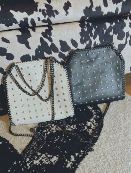Love these star studded purses from Nasty Gal. I love a edgy purse   #LTKtravel #LTKitbag #LTKunder50