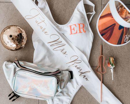 """#bachelorette #bacheloretteweekend #whitedress #whiteglitterdress #beachbach #beachbachelorette #miami #miamibachelorette #bachelorette #bacheloretteweekend #whitesparkledress #discodress #discowhitedress   My bachelorette weekends theme was """"Emily's last Disco"""". Shop all my looks from the weekend in Miami. http://liketk.it/37WDJ #liketkit @liketoknow.it"""