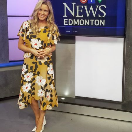 What I wore for my cocktails segment on CTV! The fact that I'm getting multiple outfits out this purchase makes me giddy. My shoes are sold out but I've linked a bunch of white mules, heels, and sandals I love too. #liketkit http://liketk.it/2wYIz @liketoknow.it