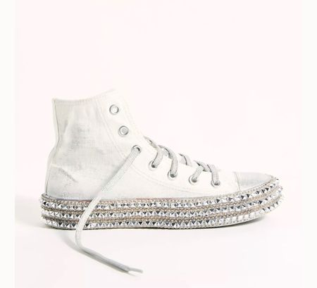 The coolest studded sneakers- love these   #LTKshoecrush