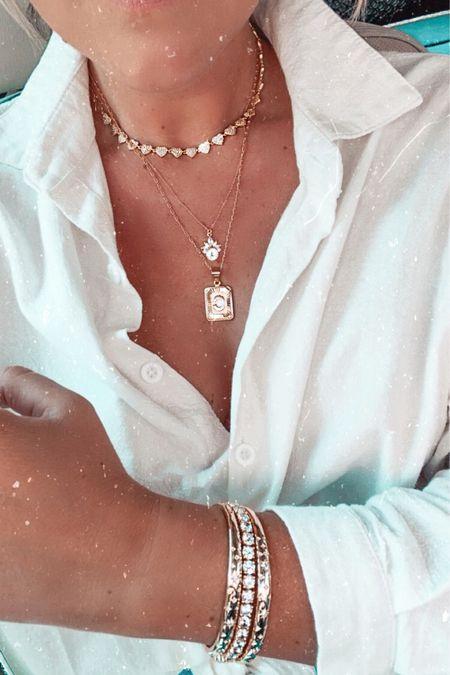 My favorite Bracha necklace is only $29 during the NSALE and still in stock!!   #LTKunder50 #LTKsalealert #LTKstyletip