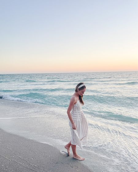 Dreaming of sunsets along the beach🧡💛💗 target is having a sale on dresses and BOGO 50% off on shoes!  #liketkit @liketoknow.it http://liketk.it/3bCRC this dress in included and I rounded up some of my other favorites!